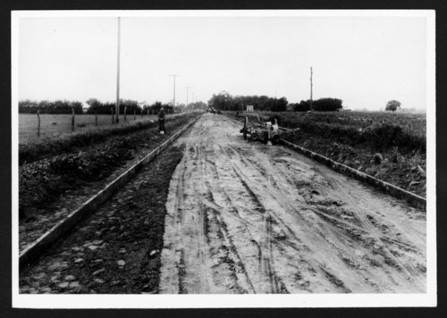 Road construction, Sedgwick County, Kansas - Page