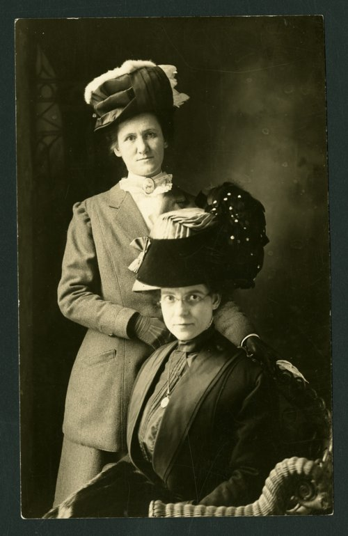Millinery store owners, Burlingame, Kansas - Page