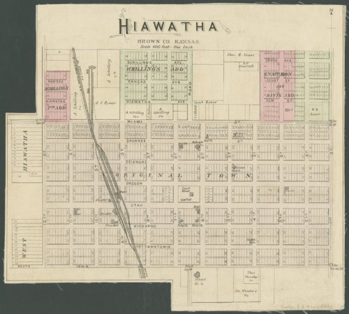 Hiawatha, Brown County, Kansas - Page