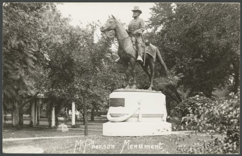 Major James B. McPherson, McPherson, Kansas - Page