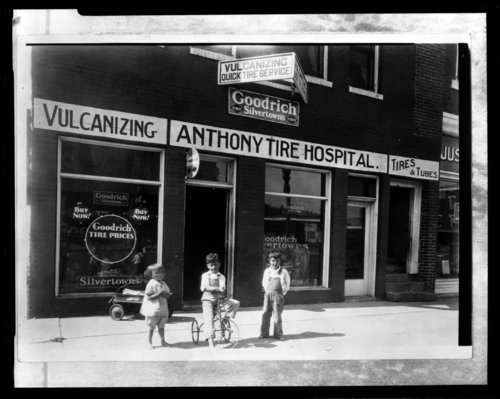 Anthony Tire Hospital, Anthony, Kansas - Page