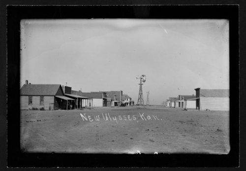 Main street in Ulysses, Kansas - Page