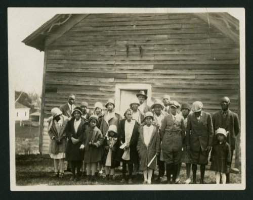 African American school, Grasshopper Falls, Kansas - Page