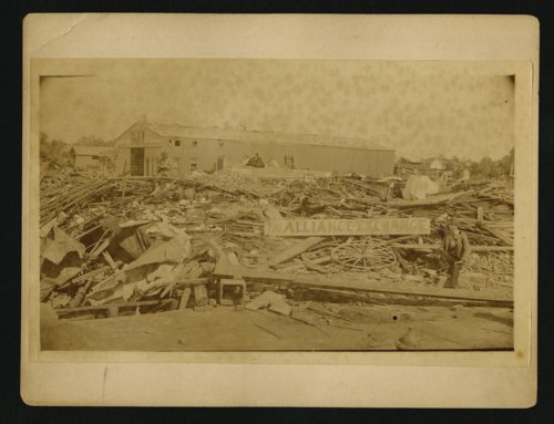 Tornado damage in Wellington, Kansas - Page