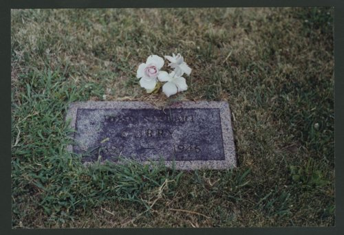 John Steuart Curry's grave and Curry family plot in Winchester, Kansas - Page