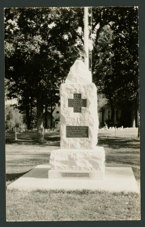 United Spanish War Veterans Memorial in Independence, Kansas - Page