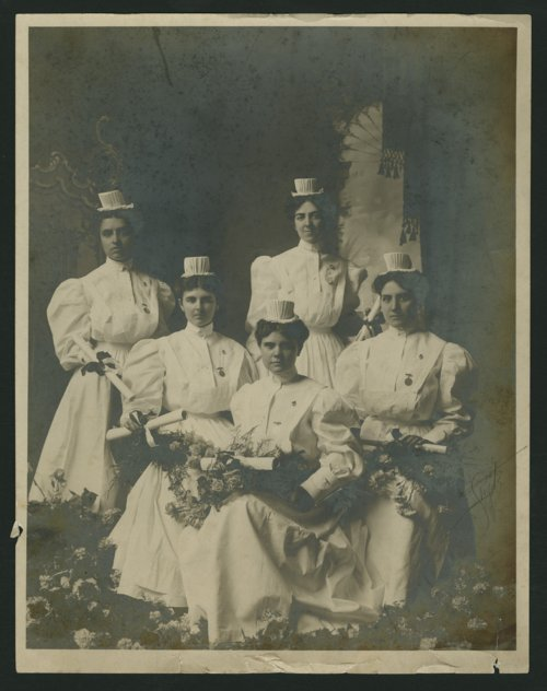Nursing students at Christ Hospital Nursing School in Topeka, Kansas - Page