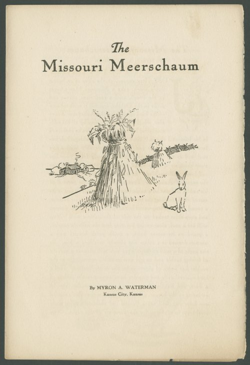The Missouri Meerschaum - Page