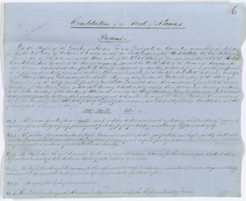 Topeka Constitution - Page