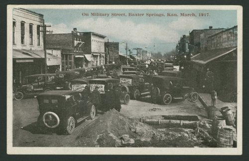 Military Street in Baxter Springs, Kansas - Page