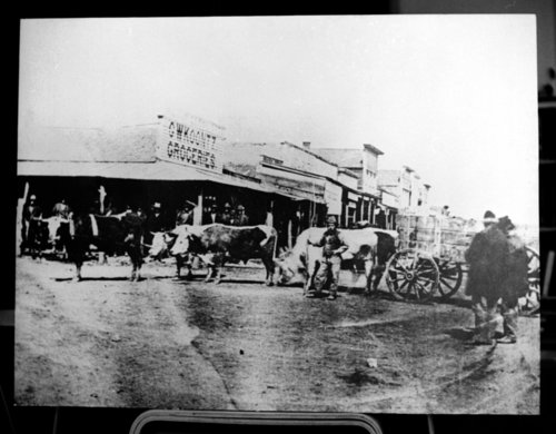 Street scene in Baxter Springs, Kansas - Page