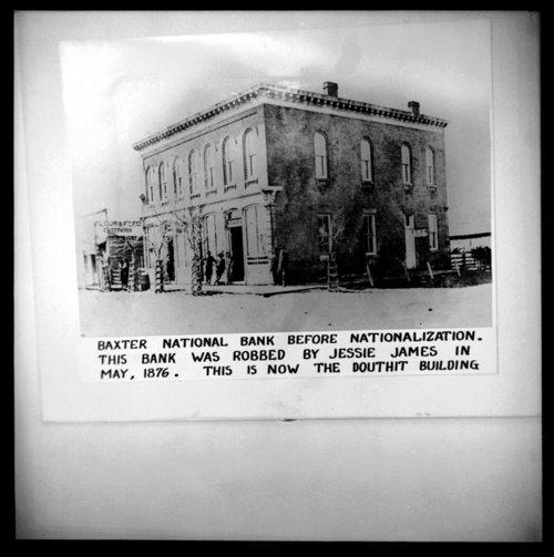 Baxter National Bank, Baxter Springs, Kansas - Page