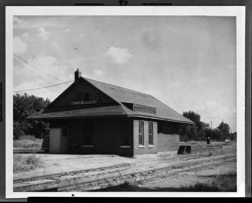 K. O. & G - K. C. S. depot Baxter Springs, Kansas - Page