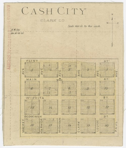 Cash City, Kansas - Page