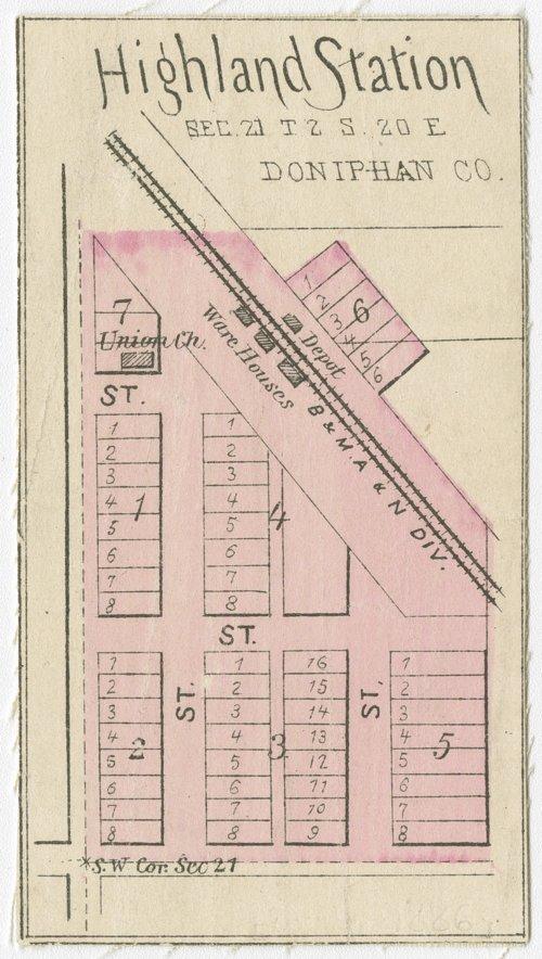 Highland Station, Kansas - Page