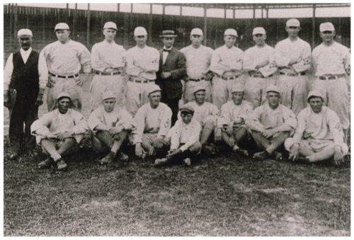 Wiley Taylor and the Austin Senators baseball team - Page