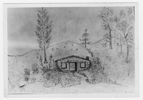 Boston Corbett's dugout in Cloud County, Kansas - Page