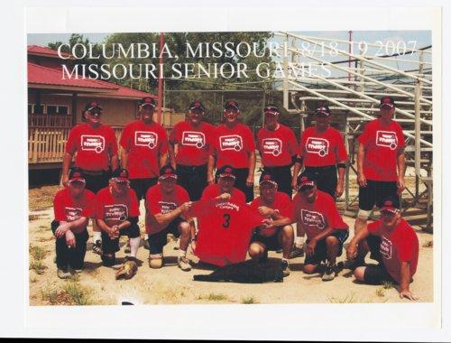 Topeka Senior & Senior's softball team - Page