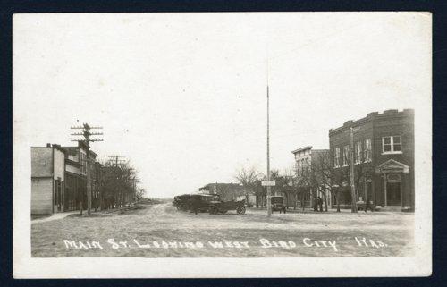 Main Street, Bird City, Kansas - Page