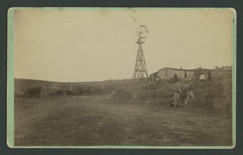 Mrs. Harriet Conn's homestead, Thomas County, Kansas - Page