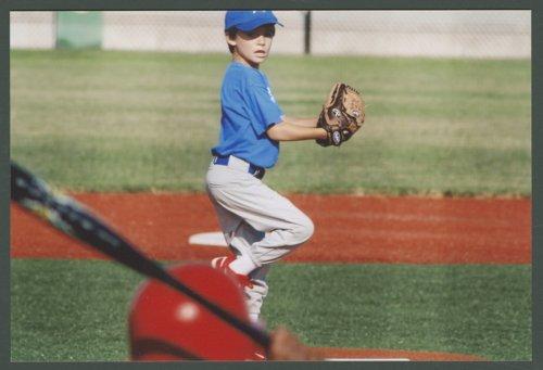 Lukas Brennan playing baseball in Topeka, Kansas - Page