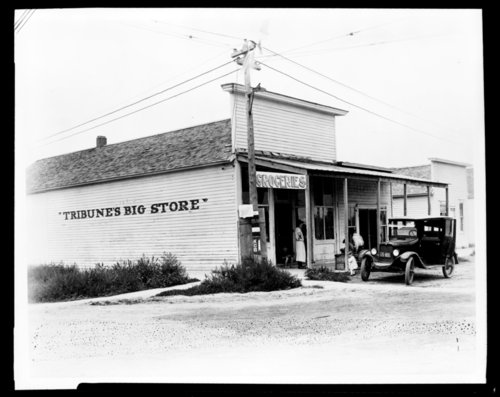 Myers store, Tribune, Kansas - Page