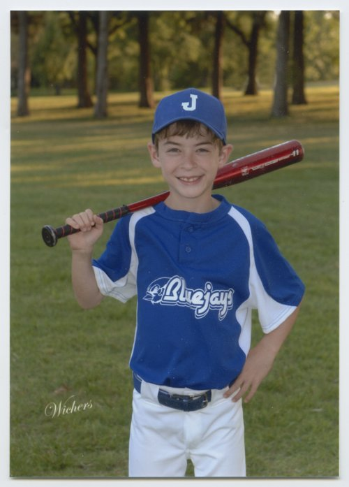 Aidan Ives and the Midget 9 Blue Jays baseball team in Topeka, Kansas - Page