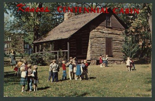 Centennial cabin in Ottawa, Kansas - Page