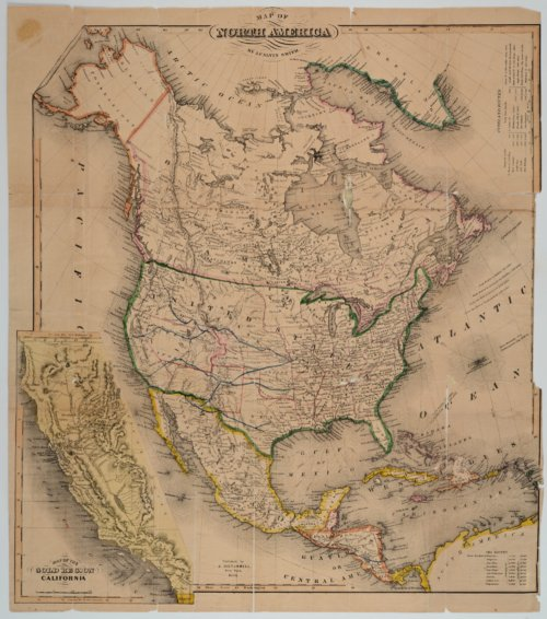 Map of North America - Page