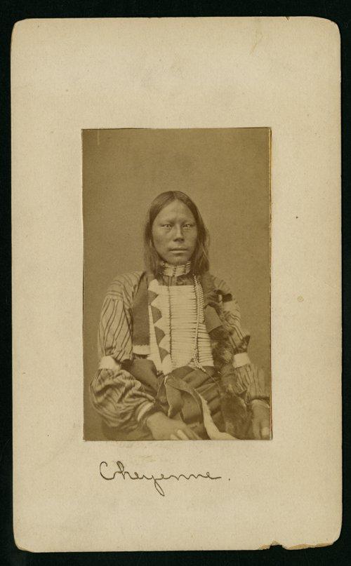Unidentified Cheyenne man - Page