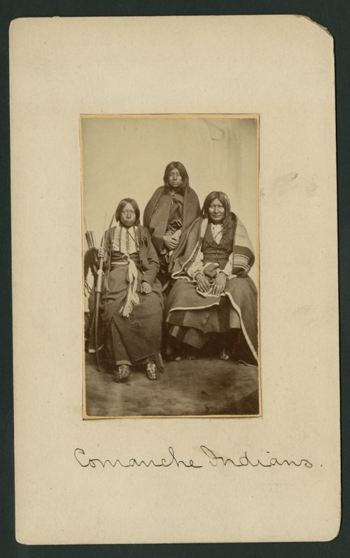 Comanche family in Indian Territory - Page