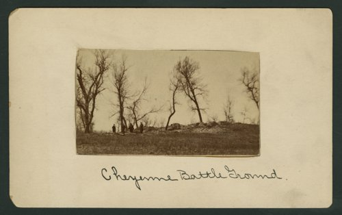 Cheyenne battleground scene - Page