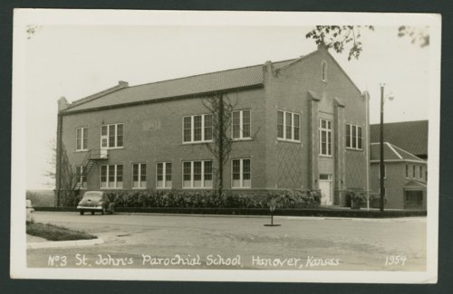 St. John's Parochial School in Hanover, Kansas - Page