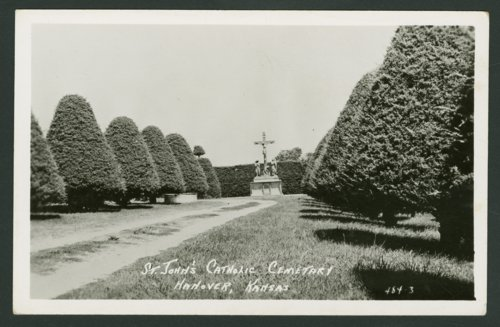 St. John's Catholic cemetery in Hanover, Kansas - Page