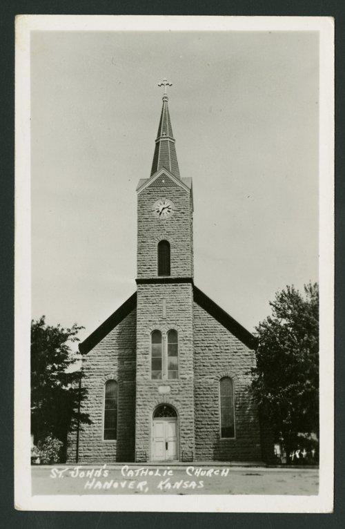St. John's Catholic Church in Hanover, Kansas - Page
