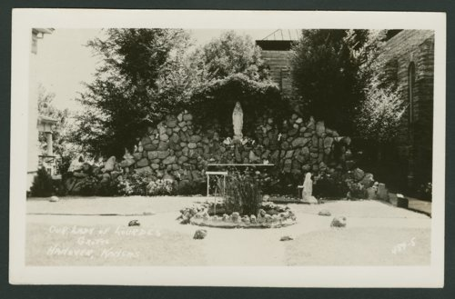 Our Lady of Lourdes grotto in Hanover, Kansas - Page