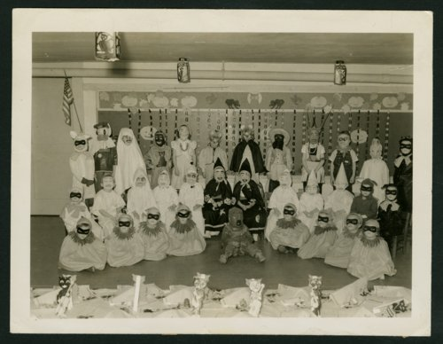 Halloween party at Southside Grade School in Russell, Kansas - Page