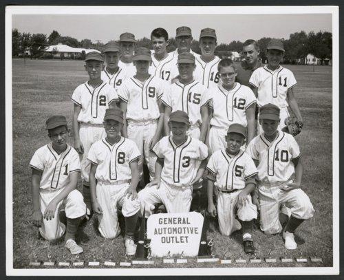 General Automotive Outlet baseball team in Wichita, Kansas - Page