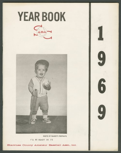 1969 SCABA baseball yearbook, Topeka, Kansas - Page