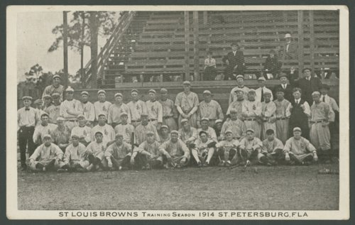 St. Louis Browns baseball team in St. Petersburg, Florida - Page