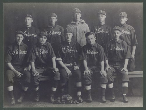 Wiley Taylor and the St. Edwards baseball team, Austin, Texas - Page