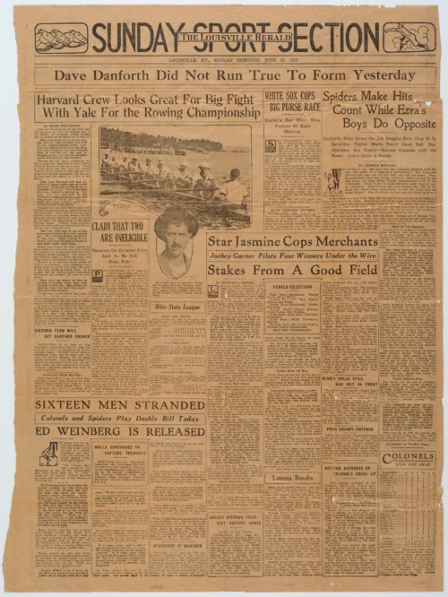 Wiley Taylor newspaper article - Page