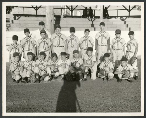 Little League baseball team in Silver Lake, Kansas - Page