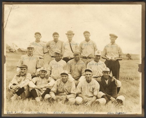 Baseball team in Hoyt, Kansas - Page