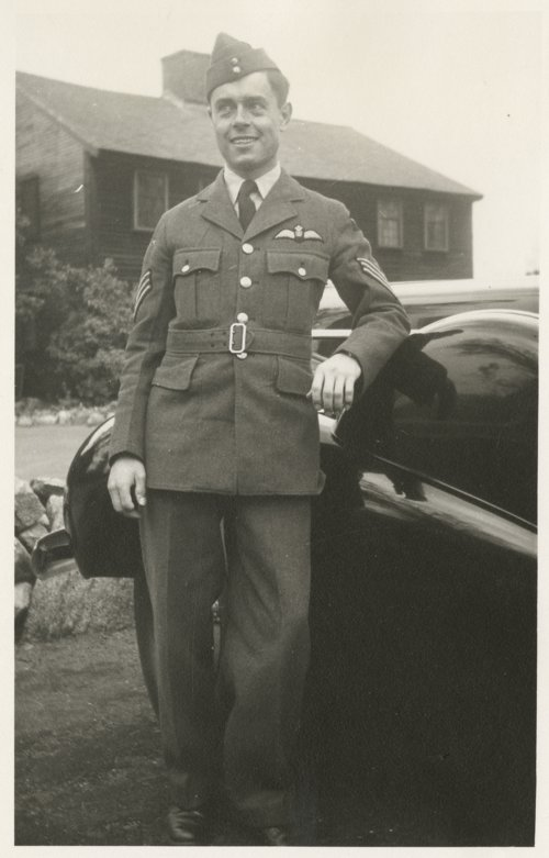 Robert S. Raymond in his British Royal Air Force uniform - Page