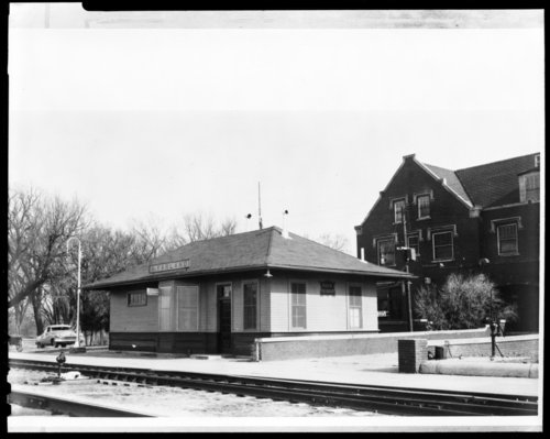 Chicago, Rock Island, & Pacific Railway depot and hotel, McFarland, Kansas - Page