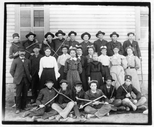 Students of Keene School in Wabaunsee County - Page
