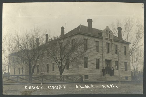 Views of the old Wabaunsee County courthouse - Page
