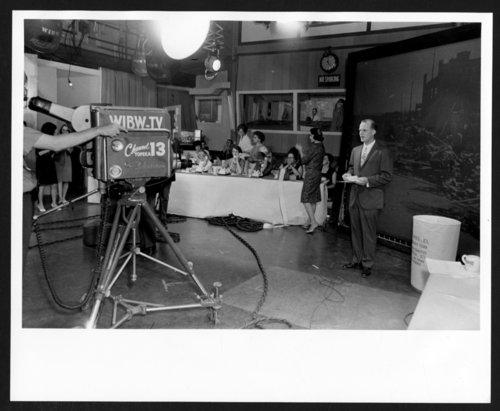 WIBW television studio in Topeka, Kansas - Page