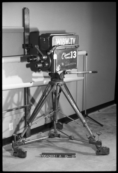 WIBW studio camera - Page